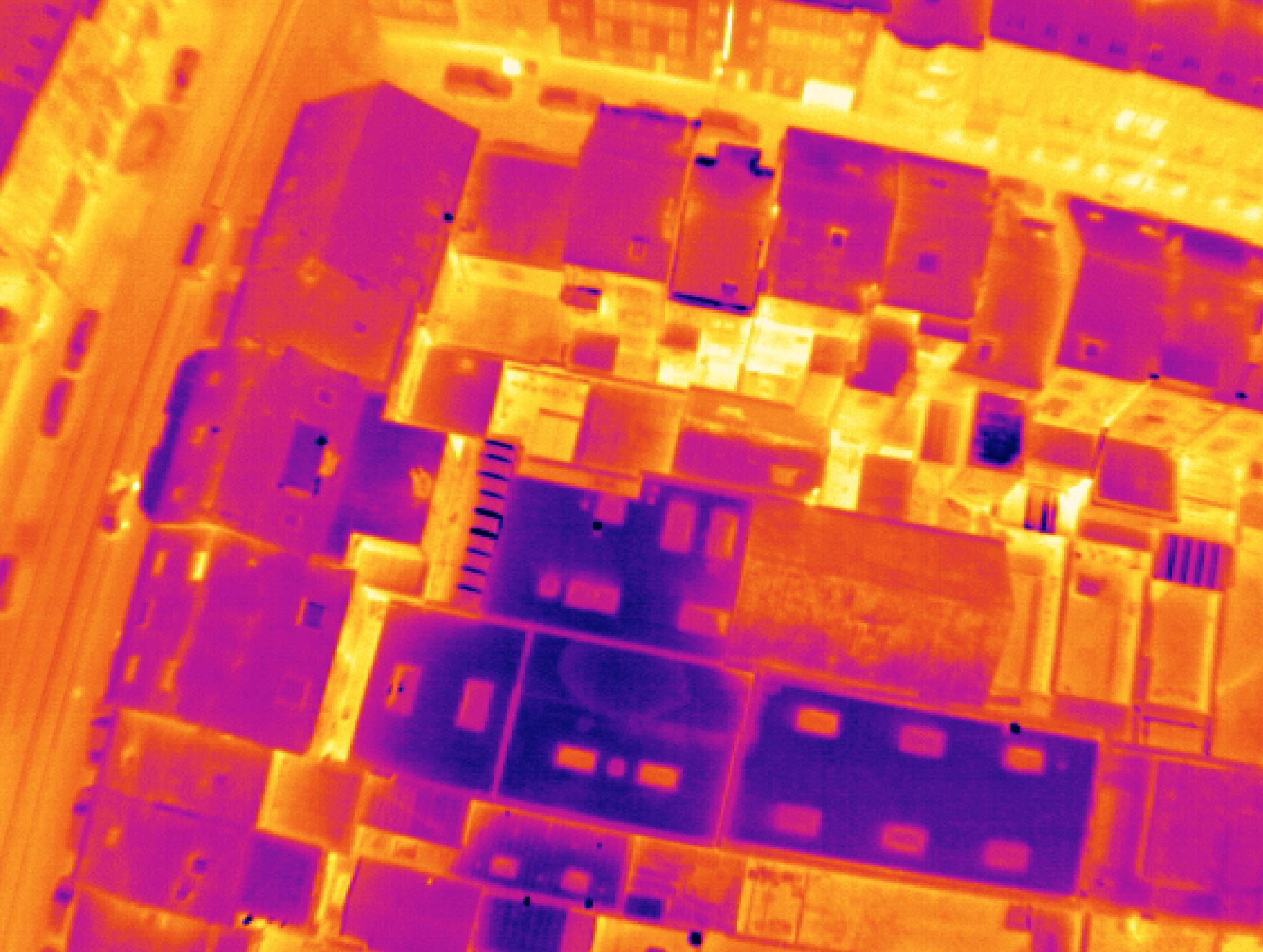 Thermographie aérienne: sensibilisation de la population
