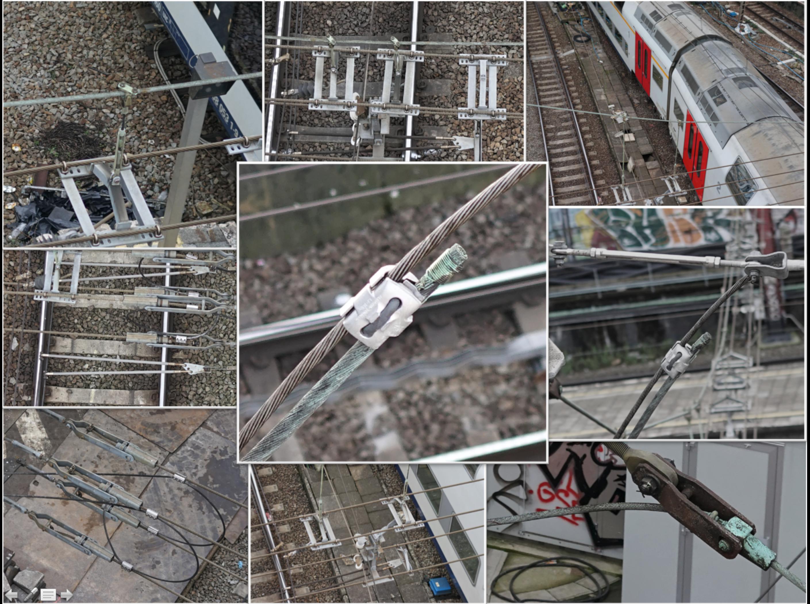 Inspection portiques ferroviaires